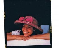 Pink Raffia Hat